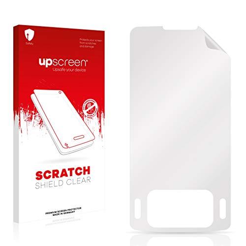 upscreen Schutzfolie kompatibel mit Samsung SGH-G800 – Kristallklar, Kratzschutz, Anti-Fingerprint