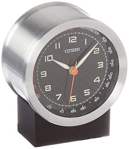 CITIZEN CC3000 - Reloj Redondo (Base de Roble), Color Plateado