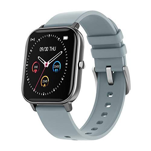 CRFYJ Reloj inteligente de 1,4 pulgadas para hombre, monitor de actividad física, presión arterial, reloj inteligente para mujer GTS Smartwatch para Xiaomi (color: gris)