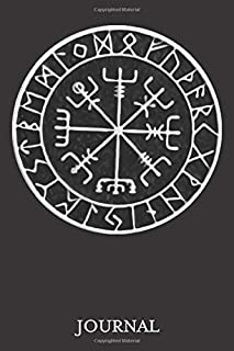"""Vegvisir Protection Sigil Journal: 120 Page 6"""" x 9"""" Blank Lined Journal, Dairy, or Notebook"""