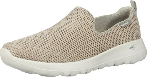 Skechers womens Go Joy Walking Shoe, Taupe, 9.5 US
