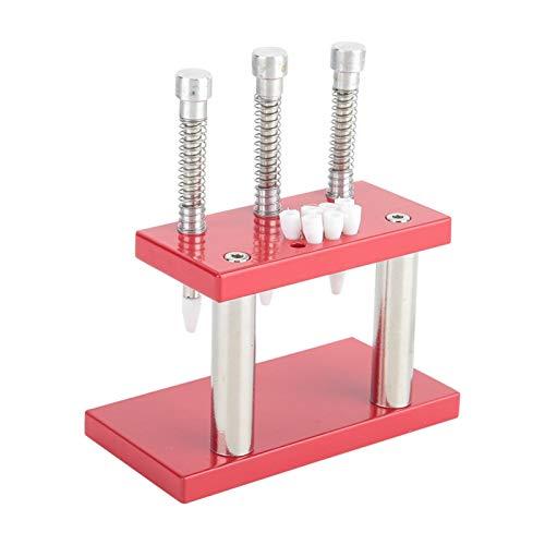 KUIDAMOS Émbolo de Mano de Reloj, Material de Aluminio de Calidad Herramienta de reparación de Relojes Émbolo preciso Duradero para reparación de Relojes para Taller de reparación de Relojes