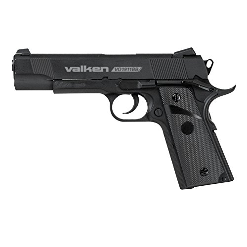 Valken Tactical 1911 CO2 Metal Blowback BB Pistol,...