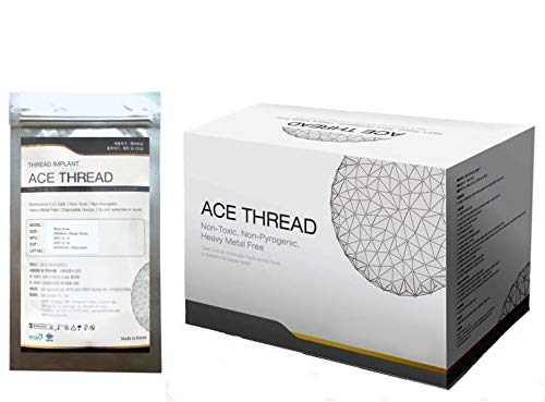 ACE PDO thread lift KOREA face/whole body - 360R Bidirection Cog Type/Sharp Needle (100pcs) (23G90/145)