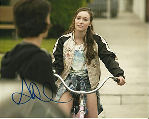 Firmar Dreams Autógrafos de Alycia Debnam-Carey firmada 10 x 8 foto a color – Fear The Walking Dead – Into The Storm – Distribuidor 100% en persona – Registrado #242