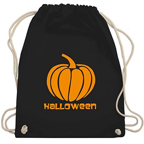 Halloween - Kürbis - Unisize - Schwarz - tasche damen - WM110 - Turnbeutel und Stoffbeutel aus Baumwolle