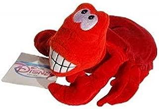 Sebastian the Crab Little Mermaid Disney Mini Bean Bag Plush