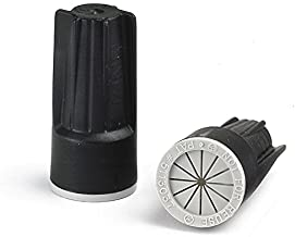 LANDSCAPE PRODUCTS PREMIER PRODUCTS FOR LANDSCAPE & AGRICULTURE LPI Black/Gray Medium Waterproof Wire Connectors #22 - #8 AWG - Box of 100