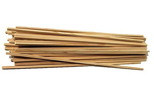 50 Stück Zuckerwattestäbe Stäbchen Zuckerwatte 30 cm 4x4mm für Zuckerwattemaschinen