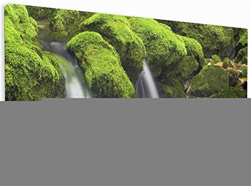 DIY 5D pintura de diamante bordado kits completo Cascada Diamond painting grande punto de cruz adulto/niño cristal Rhinestone lienzo art craft for home wall decor gift Square Drill,80x160cm(32x64inch)
