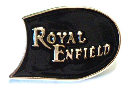 Royal Enfield Classic 1960's Biker Rocker Metal Motorcycle Enamel Badge