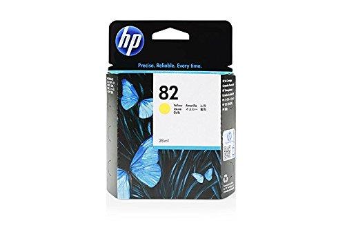 HP Original CH568A / 82, für DesignJet 510 Series Premium Drucker-Patrone, Gelb, 28 ml