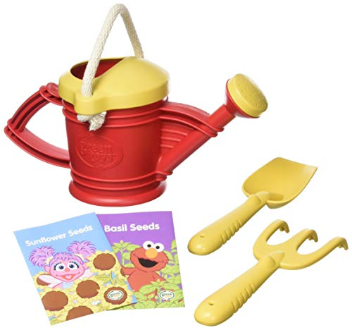 Green Toys Watering Can Outdoor Activity Set – Elmo Closed Box