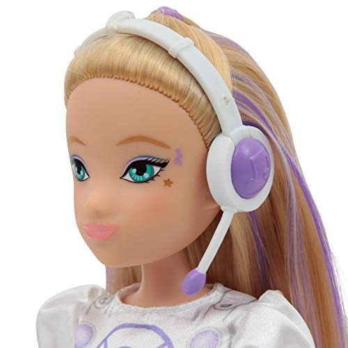 Giochi Preziosi- Miracle Tunes Emily Fahion Doll con Accessori, Multicolore, MRC13200