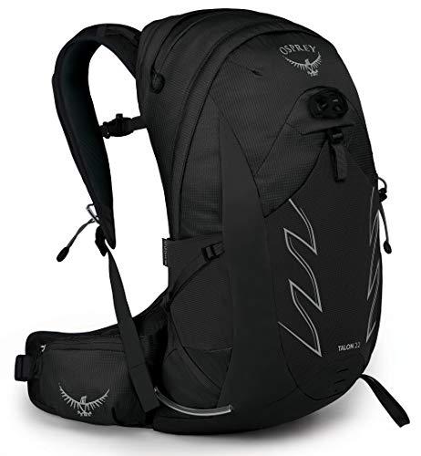 Osprey Talon 22 Wanderrucksack für Männer Stealth Black - L/XL