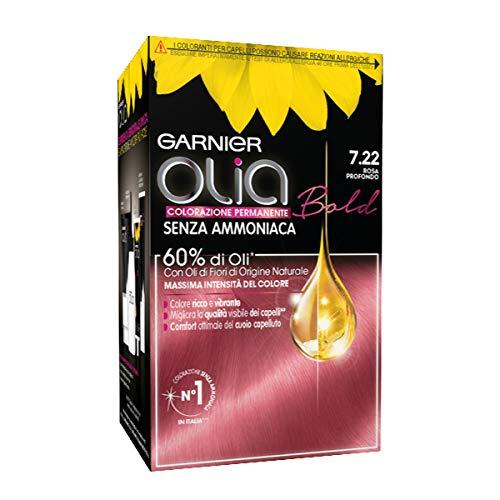 Garnier Olia, permanente Haarfärbung.