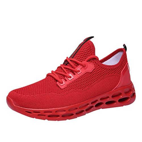 EUZeo Sportschuhe Herren Damen Laufschuhe Sneakers Turnschuhe Gym Fitness Leicht Schuhe