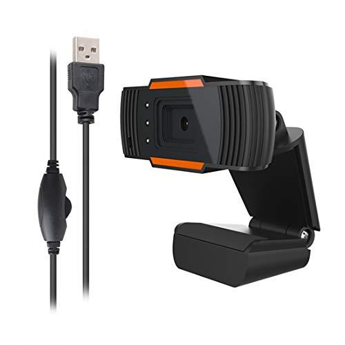 1080P PC webcam met ingebouwde geluidsabsorptie microfoon USB-streaming webcam voor video-oproepen en opnemen/online onderwijs ondersteunt Windows/Android