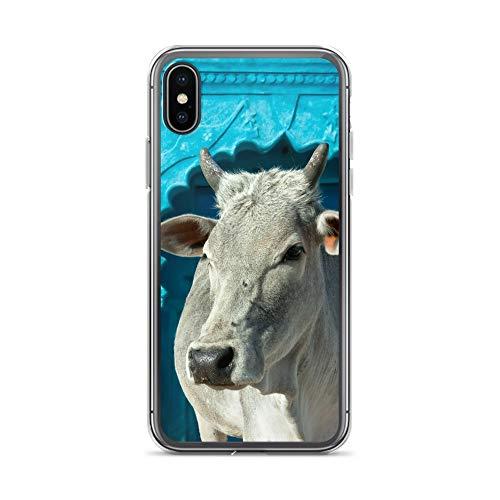 blitzversand Handyhülle Indien India GANGES kompatibel für Huawei P8 Lite heilige Kuh Schutz Hülle Case Bumper transparent rund um Schutz M6