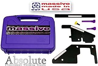 Massive Absolute Master PRO+ MADE USA Precision Cam Timing Tool Set compatible w Ford Mazda Zetec Duratec MZR Engines 2.0 2.3 2.5 Focus Fusion Escape Ranger 3 5 6 Miata MX-5 Turbo DISI Mazdaspeed CX-7