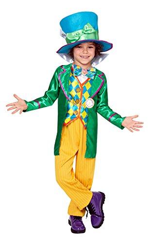 Rubie' s Disney–Costume da Cappellaio Matto Alice Nel Paese Delle Meraviglie grande