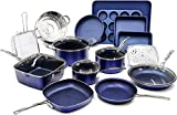 Granite Stone Pots and Pans Set, 20 Piece Complete Cookware + Bakeware Set with Ultra Nonstick 100% PFOA Free...