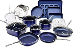 COMPLETE KITCHEN IN A BOX – includes everything you need to completely outfit your kitchen and take cooking and baking to the next level, includes a full cookware set with frying pans, skillets, saucepans, stock pots with tempered glass lids, a deep ...