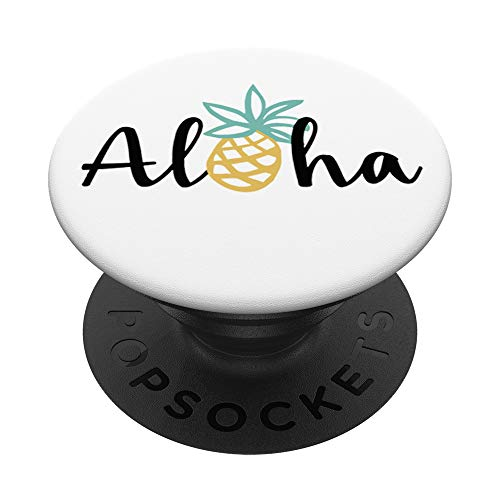 Aloha Pineapple Hawaii Hawaiian PopSockets PopGrip: Swappable Grip for Phones & Tablets