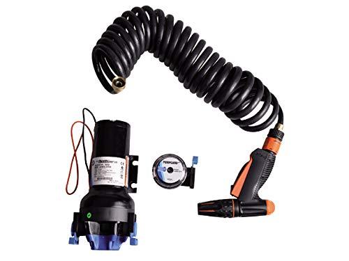 Jabsco, 82906-0094, Automatic Washdown Pump, Hot Shot, 6.0 Gallonos Per Minute, 70 PSI, 24 Volt