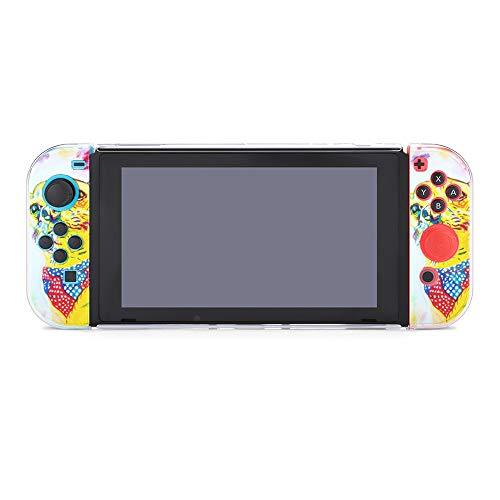 Cute Origami And Dream Catchers - Funda protectora compatible con Nintendo Switch, funda de agarre suave para consola y Joy-Con con protector de pantalla, agarre de pulgar, anti-arañazos Design15749