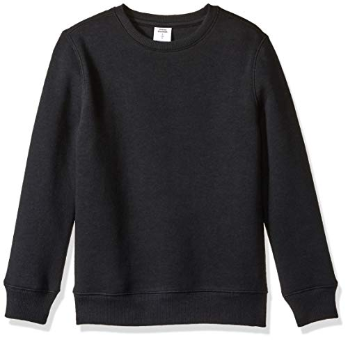 Amazon Essentials Crew Neck Sweatshirt fashion-sweatshirts, Negro, XL