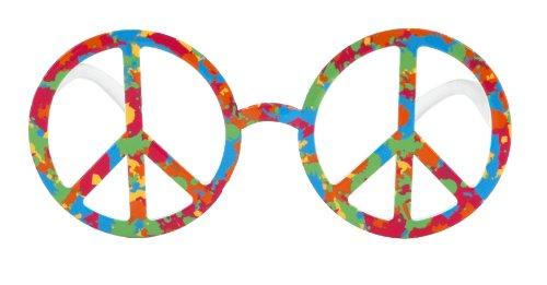 Elope - S73202 - Déguisement - Accessoire - Lunette - Peace & Love