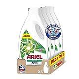 Ariel Detergente Lavadora Líquido, 150 Lavados (5 x 30), Original