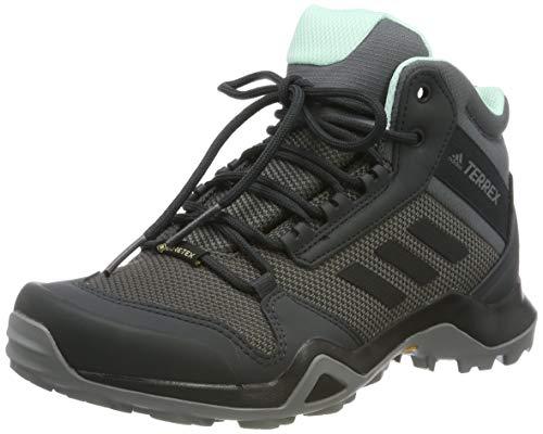 adidas Damen Terrex Ax3 Mid GTX W Fitnessschuhe, Mehrfarbig (Gricin/Negbás/Mencla 000), 42 2/3 EU