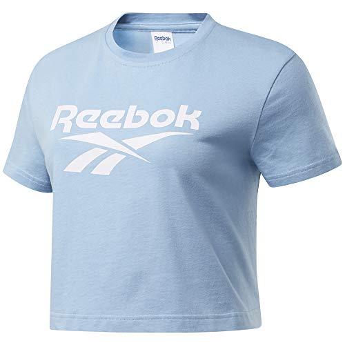 Reebok Classic Vector Crop Tee, Fluid Blue, M