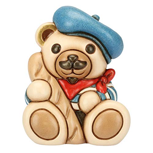 THUN ® - Teddy Parigi - Linea Teddy On The Road - Ceramica - 6,5 X 5 X 8,2 H Cm - Linea I Classici