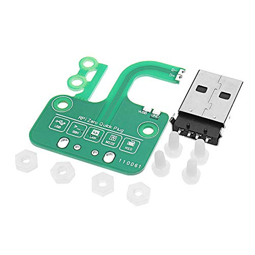 PengCheng Pang Multi-Funzione USB Plug Rapida Board Ethernet Adapter Package for Raspberry Pi Zero v1.3 / Zero W