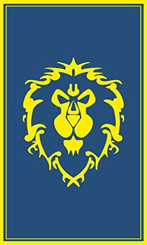 Warcraft Flag | Alliance Portrait | 3x5 Ft / 90x150 cm | Large Long Lasting Flag