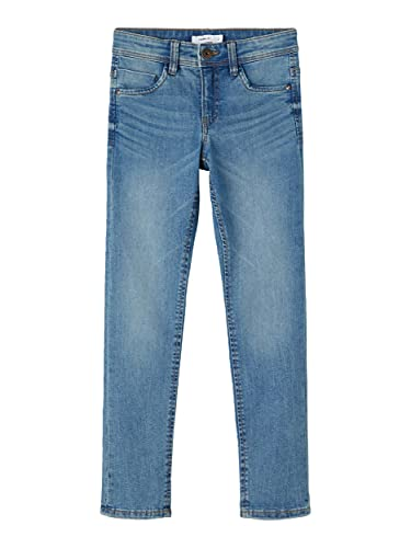 NAME IT Jungen NKMTHEO DNMTASIS 2531 Pant NOOS Jeans, Medium Blue Denim, 140