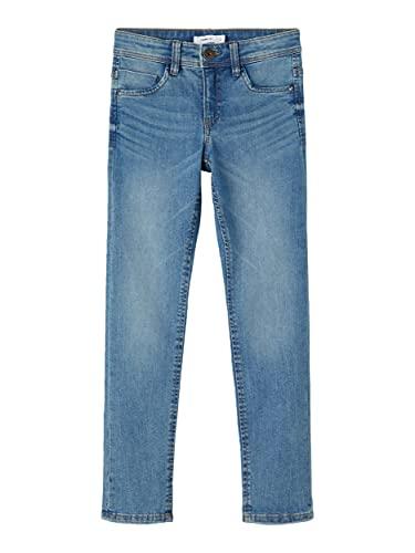 NAME IT Jungen NKMTHEO DNMTASIS 2531 Pant NOOS Jeans, Medium Blue Denim, 122