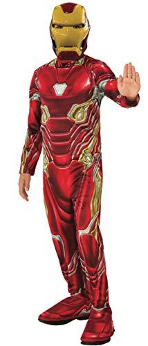 Rubie s 700660_L, costume ufficiale Avengers Endgame Iron Man, per bambini, taglia L, età 8-10 anni, altezza 147 cm