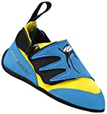 Mad Rock Mad Monkey 2.0 Climbing Shoe - Kid's Baby Blue/Yellow 4