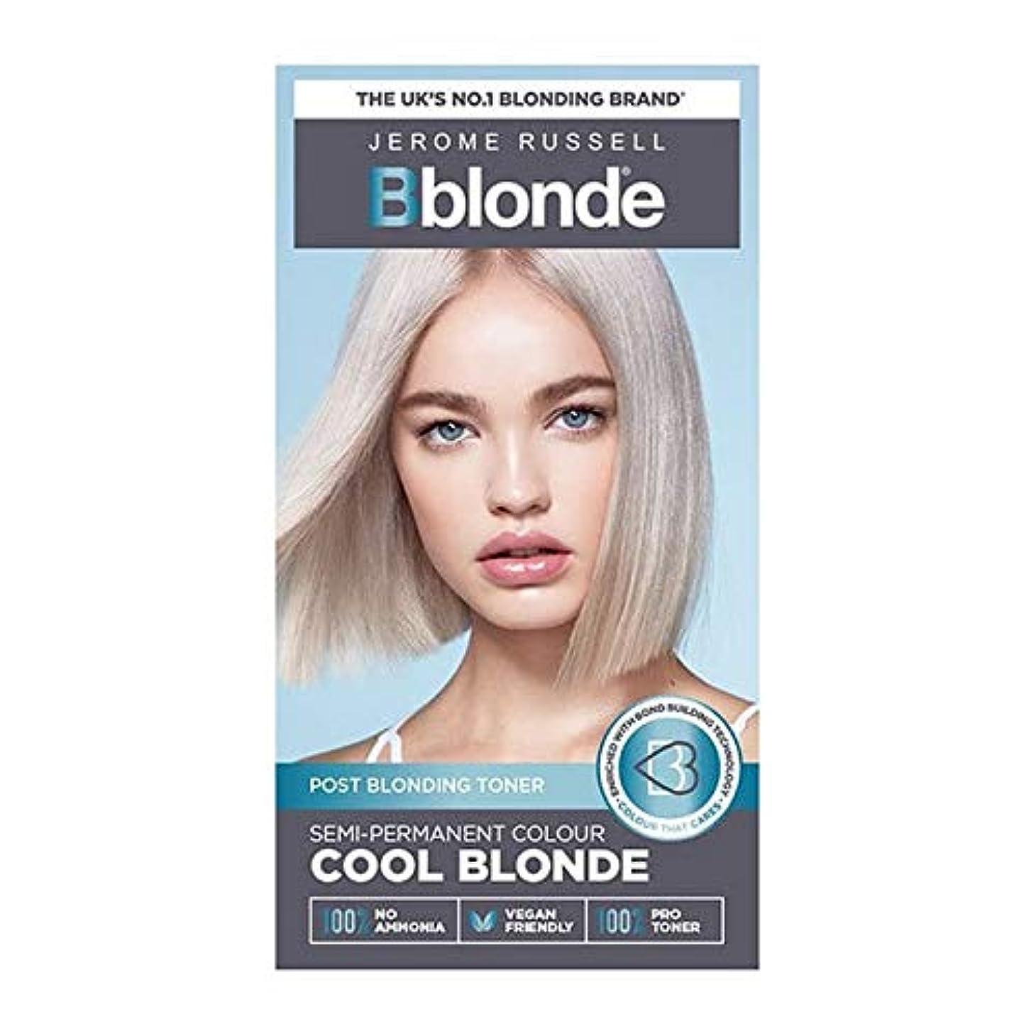 疾患法廷バリケード[Jerome Russell ] ジェロームラッセルBblonde半恒久的なトナークールなブロンド - Jerome Russell Bblonde Semi Permanent Toner Cool Blonde [並行輸入品]