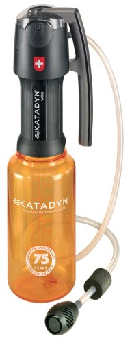 Katadyn Vario Water Filter, Dual Technology Microfilter for Personal or Small Group Camping, Backpacking or Emergency Preparedness