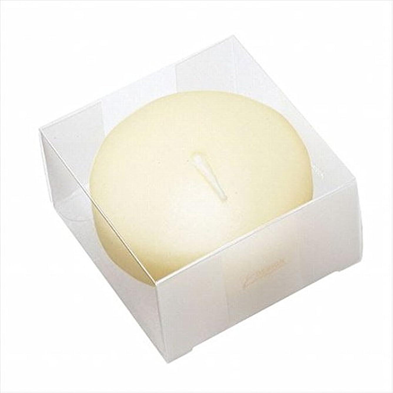 病弱輝く敷居カメヤマキャンドル(kameyama candle) プール80(箱入り) 「 アイボリー 」