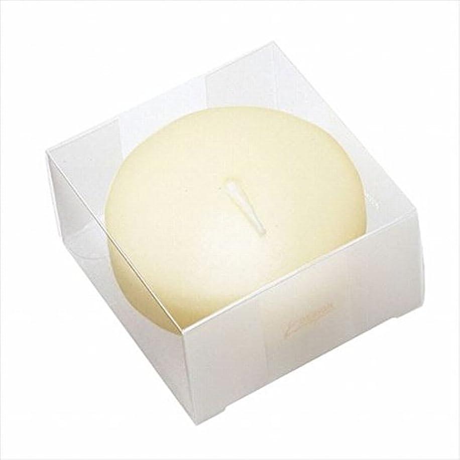 記念日塊痛いカメヤマキャンドル(kameyama candle) プール80(箱入り) 「 アイボリー 」