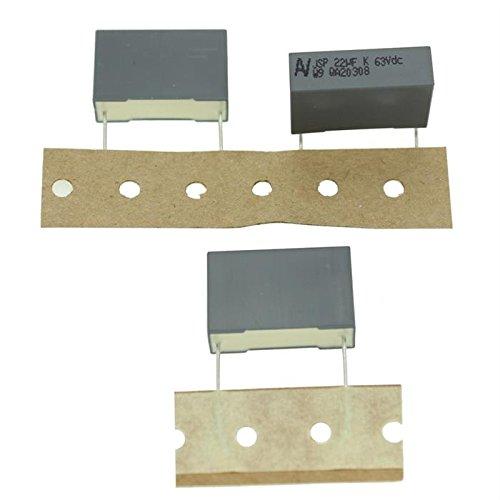 2x MKT-Condensateur rad. 22µF 63V DC ; 22,5mm ; JSPDN5220CK00K ; 22uF