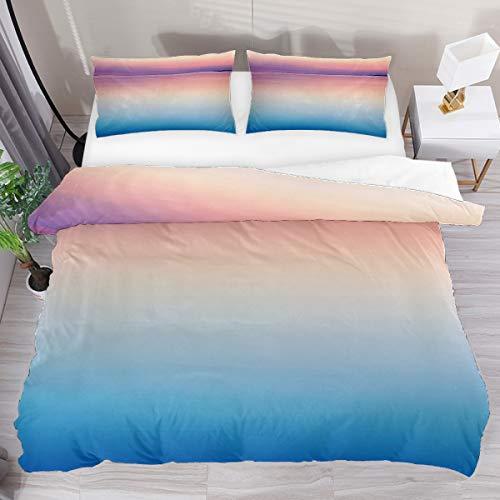 GanLongDian Duvet Cover Set Bedding Quilt Cover for Men Women,Bedding Set Gift,Comforter Cover and Pillowcase,Single Full Double King Size Sea Pattern