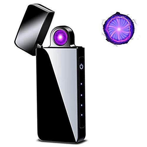 Spinning Arc Lighter- Plasma Lighter with Spinning Arc- Cool Lighter- Rechargeable USB Plasma Lighter