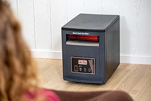 """ECODE ECO-CHI-530 """"Heat Tech Purifier"""" Réchauffeur électrique de purificateur avec le mode d'économie de contrôle et de chauffage. 1500W-750W"""